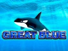 Онлайн игра с крупными призовыми выплатами Great Blue на зеркале сайта